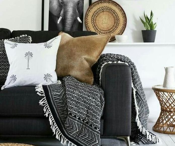 5 ideas para incorporar los colores negros y grises a tu hogar