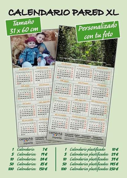 Calendario XL: Servicios de Cemeyka Digital