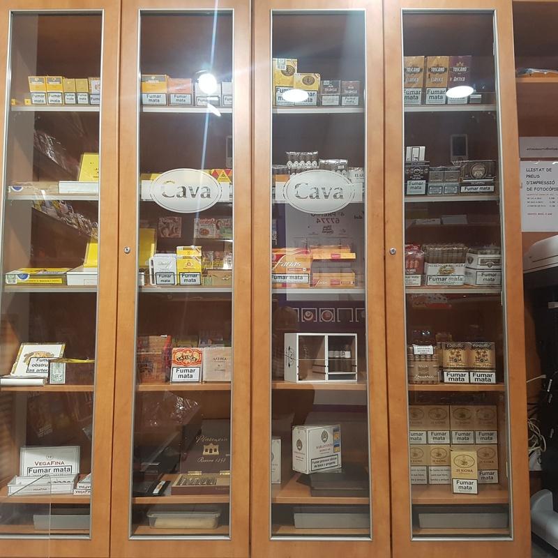 Cava de puros: Nuestro Estanco de Estanc de Sarrià