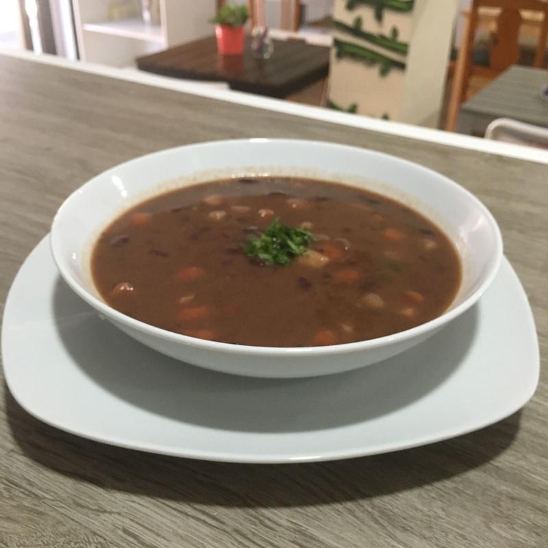Sopa de Alubias Rojas!!