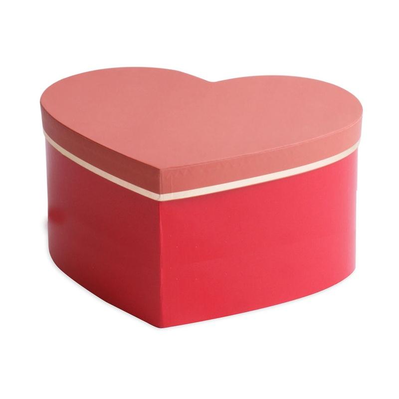 "CAJA CARTULINA ""sombrero Lovelyn"" (20x25x10CM)/ roja REF: M40315 PRECIO: 3,50€/UD"