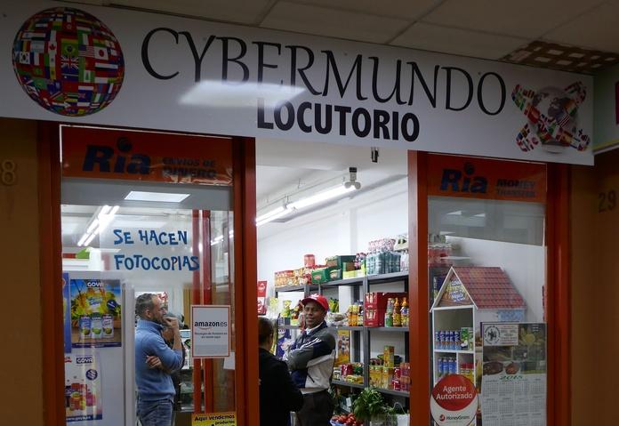 Cybermundo Locutorio: Nuestros locales de Zoco Villalba