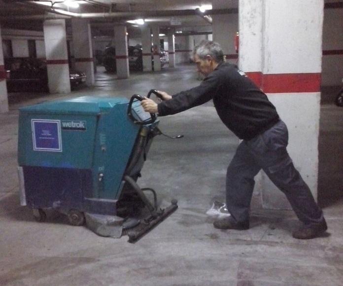 Limpieza y mantenimiento: Servicios de CABYMAR MANTENIMIENTOS