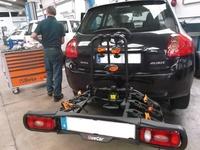 Taller mecánico de coches en Cabezón de la Sal que se encarga de los enganches de remolque y portabicis