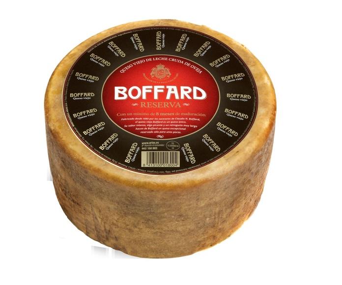 Queso de Oveja Reserva Curado Pieza de 3 Kgs. Marca Boffard