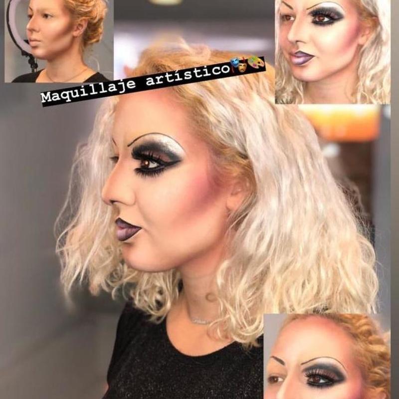 Maquillaje de caracterización, Actores, Publcidad, Halloween, Carnaval...: Servicios de C. López