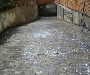 Pavimentos para rampa de garaje en Barcelona