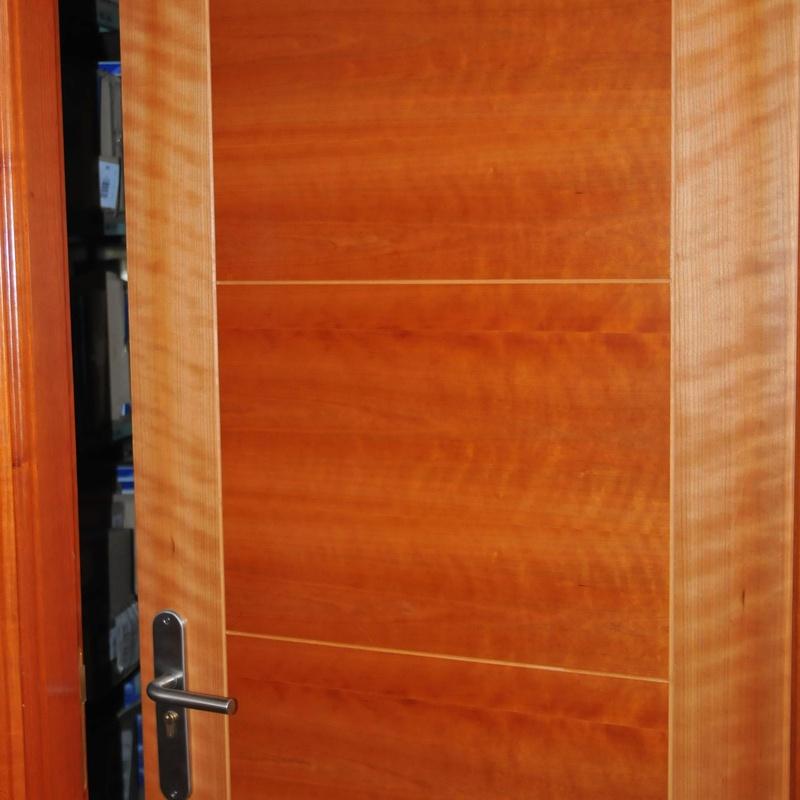 Puertas: Catálogo  de Maderas Ignacio Rodríguez