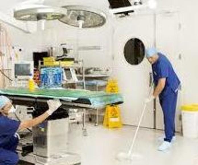 Limpieza de centros médicos : Servicios de limpieza de Blau