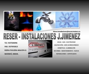 LAMPISTA - ELECTRICISTA - CALEFACCIÓN - AIRE.... RESER INSTALACIONES J.JIMENEZ
