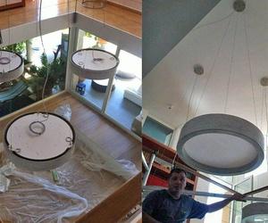 Renovación eléctrica en restaurante