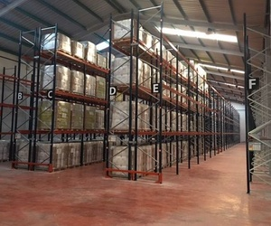 Almacenamiento de mercancías paletizadas