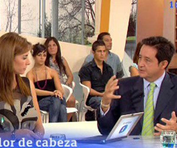 Entrevista en la TV 1