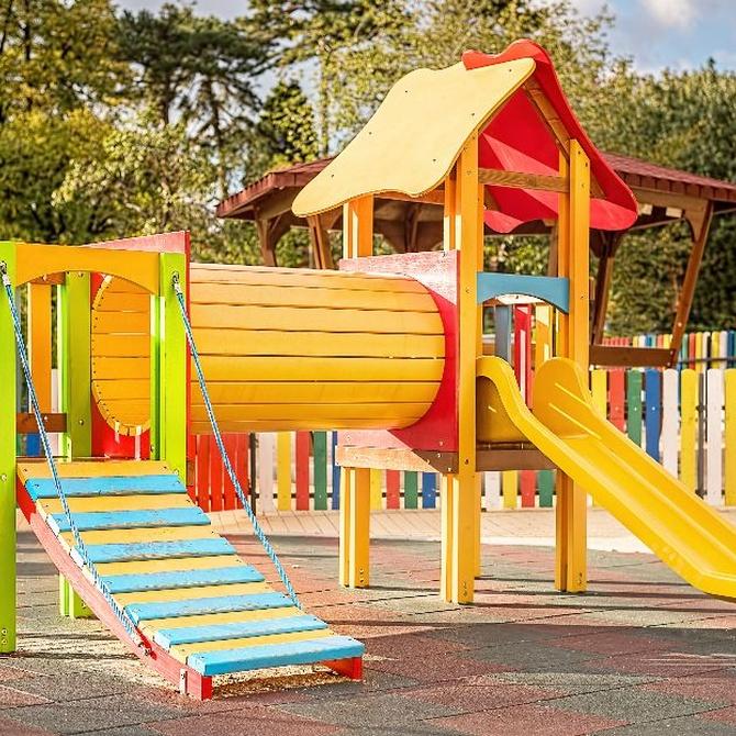 ¿Cómo es el diseño de un parque infantil inclusivo?