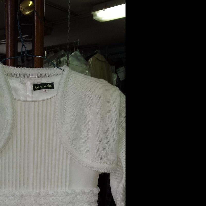Reutilizar vestido de comunión usado: Servicios  de Tintorería Anubis