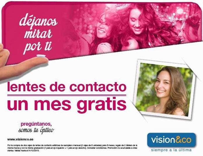 Lentes de contacto y líquidos: Servicios - Promociones de Visión & CO Huelva