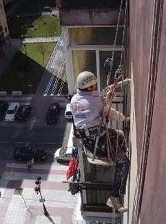 Trabajos verticales en Pinto