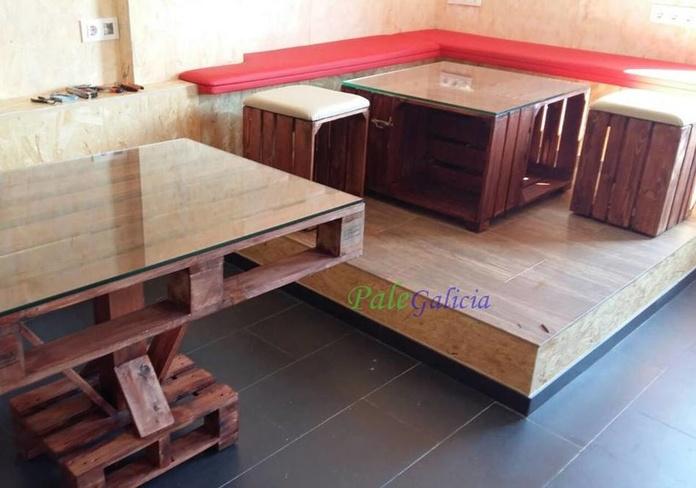 Mobiliario de palets y cajas de madera: Productos de Palegalicia