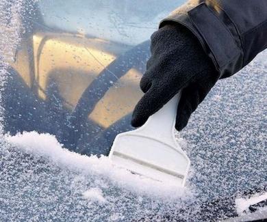 6 consejos para eliminar el hielo del limpiaparabrisas