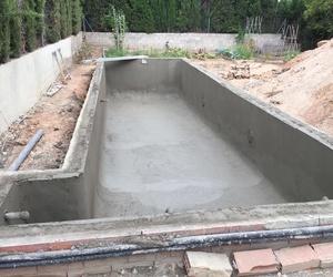 Construcción piscina Valencia