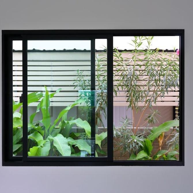 Las ventanas correderas
