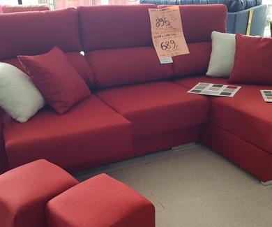 Super precio, el sofá lo tiene todo