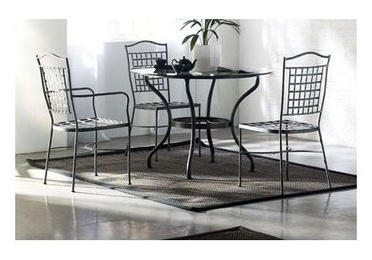 Muebles de forja: salón comedor en hierro forjado