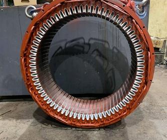 Reparación de motores: Servicios de Bobinados Moreno