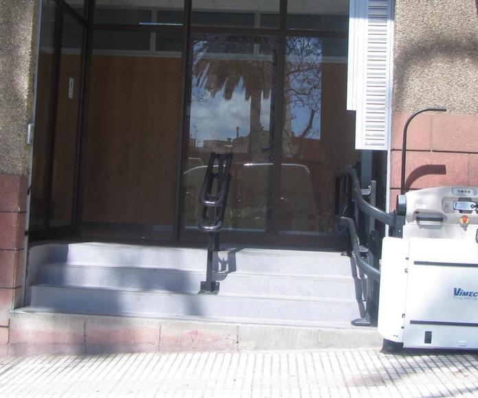 V65: Productos de Elevadores Canarias