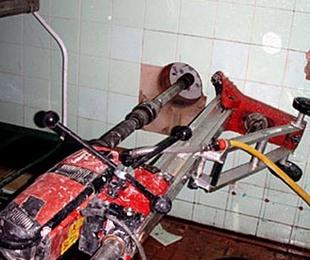 Perforaciones en hormigón