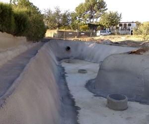 Construcción de balsas