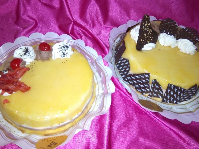 Pasteles de nata y trufa