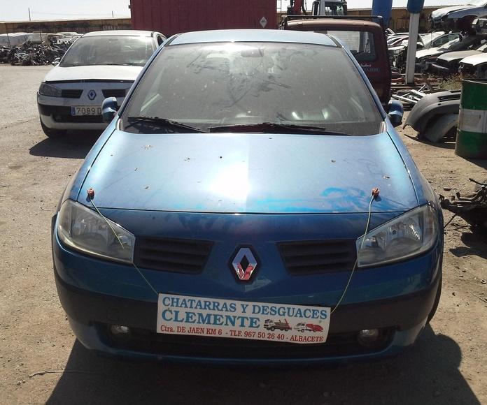 Renault Megane 04 para desguace en Chatarras Clemente de Albacete