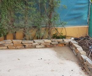 Construcción de jardinera en Valencia