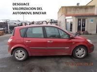 RENAULT MEGANE SCENIC 1.9 D AÑO 2003: Catálogo de Desguace Valorización del Automóvil BCL, S.L.