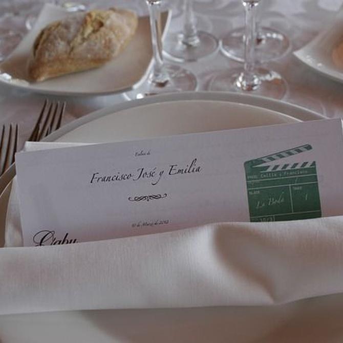 Consejos sobre la elección y decoración de mesas en una boda