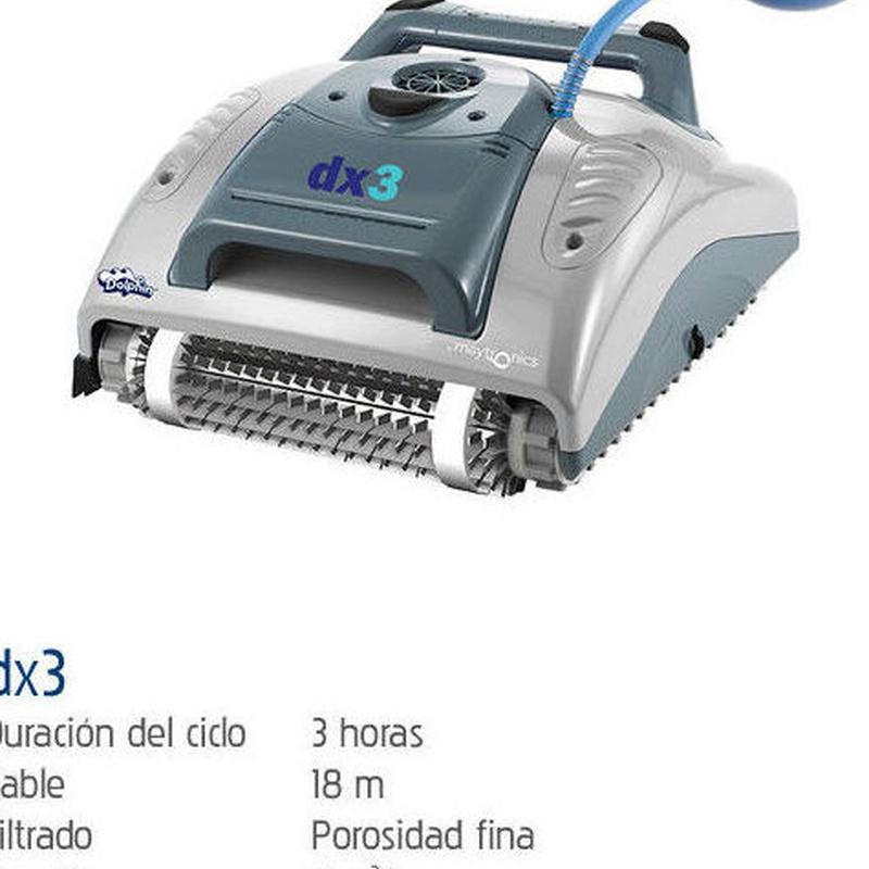 DX3: Productos y servicios de Piscinas Castilla - Construcción y Rehabilitación