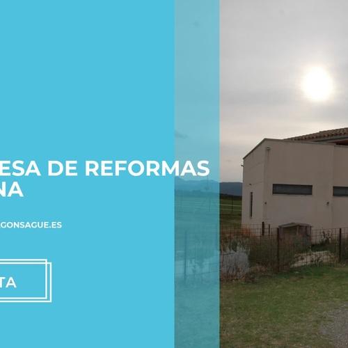 Reformas integrales Banyoles | Construccions Sagué