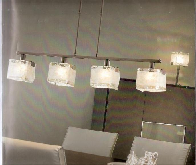 Lámpara rústica moderna