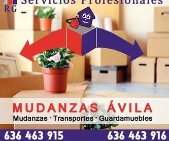 Alquiler de camión con conductor: Servicios de Mudanzas Ávila