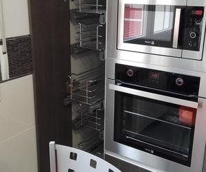 como aprovechar los pequeños espacios en la cocina