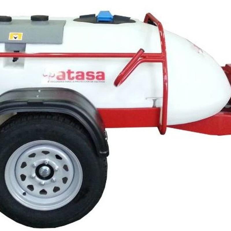Pulverizador con enganche a coche ATASA: Productos y servicios de Maquiagri