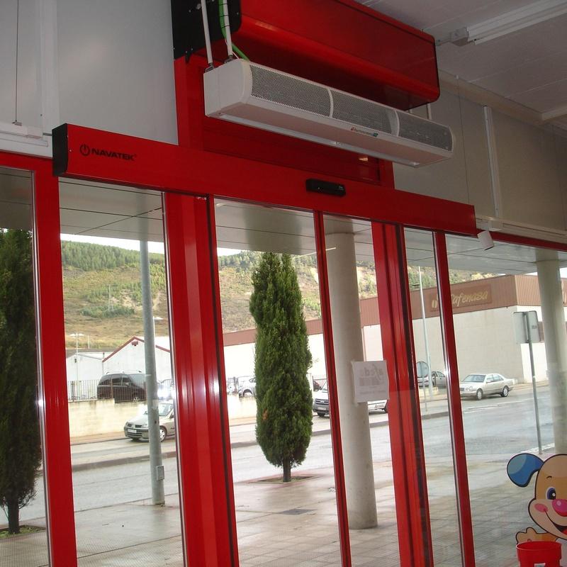 Instalacion de Puertas automaticas en Pamplona