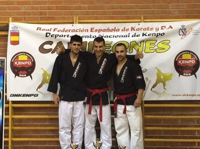 Ángel Ruiz Campeón de España de kenpo 2015