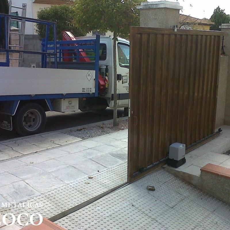 Automatismos para puertas correderas en Granada