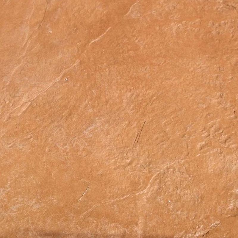 Pavimento manta color teja 104