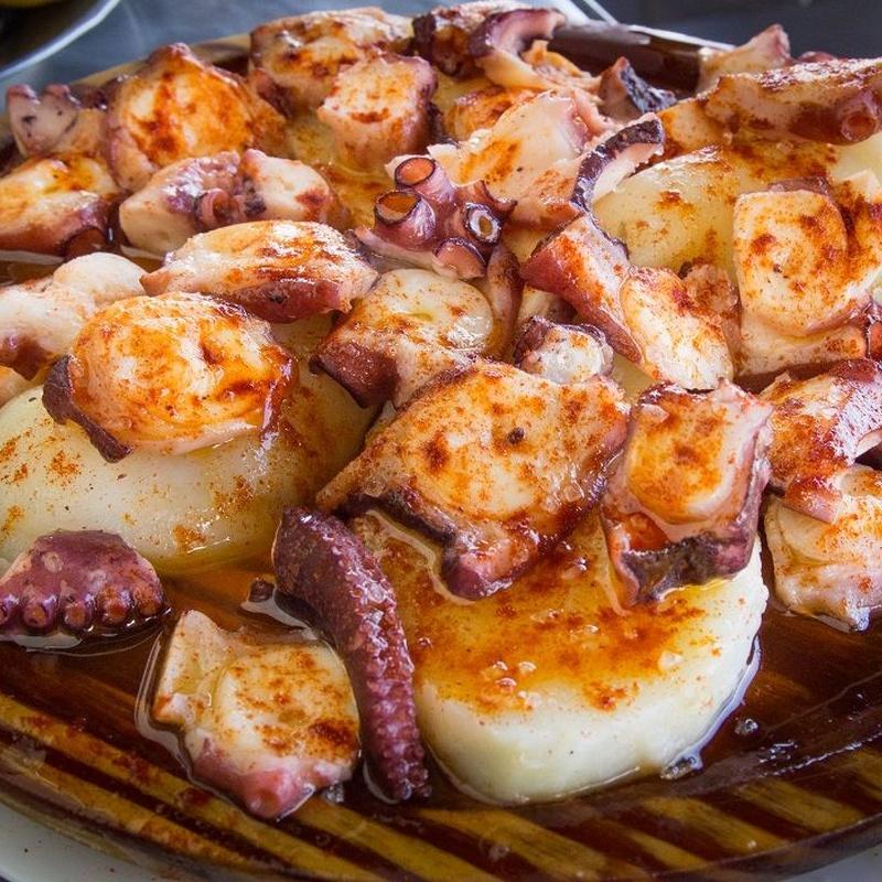 Raciones: Especialidades de Aquí, Galicia