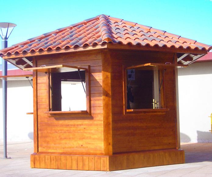 Kisosko Kiosco de madera Tacoronte