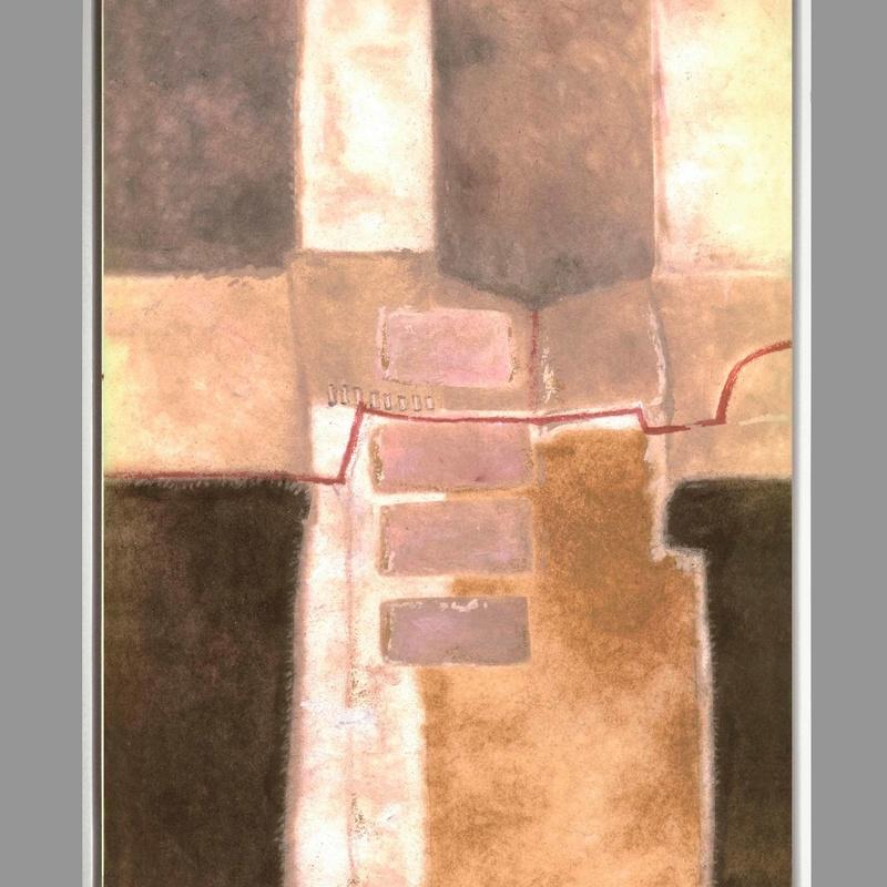 Abstracto I: catalogo de 4 INGLETES BRAVO MURILLO