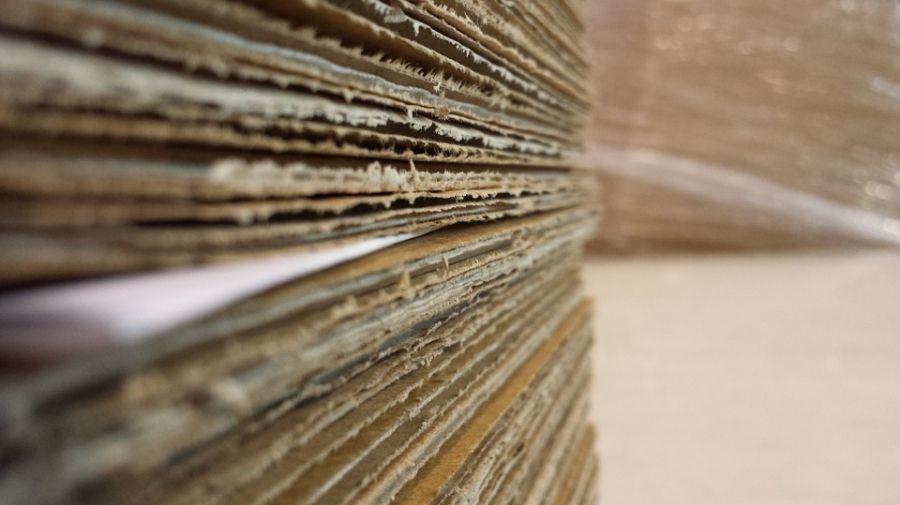 Sobre la historia del papel y el cartón